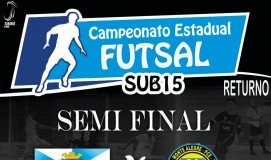 Semi Final Estadual de Futsal